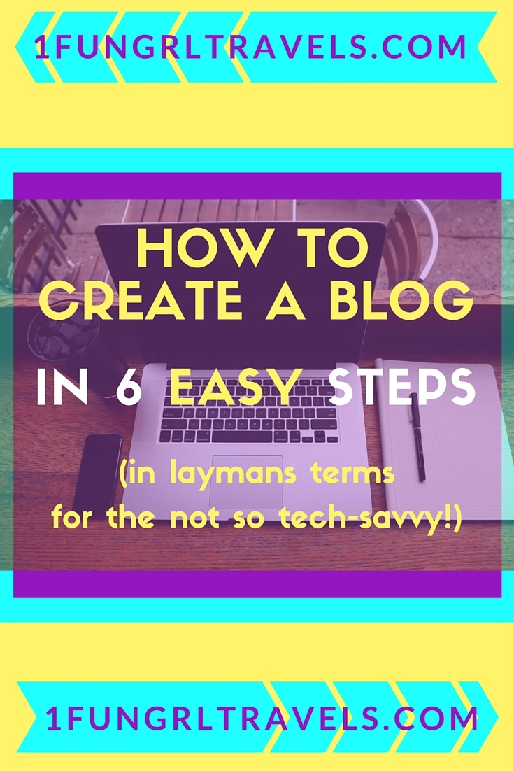 how to create a blog