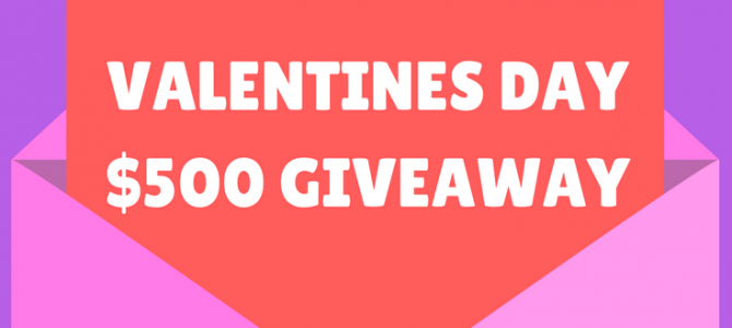 My Gift Stop Valentine's Day $500 Giveaway