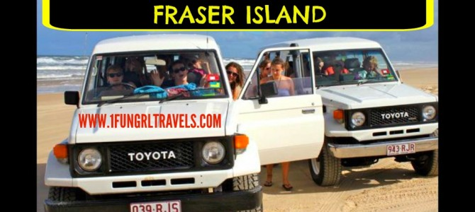 Tips for Camping and Off-roading on Fraser Island!